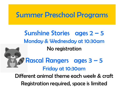 summer preschool programs
