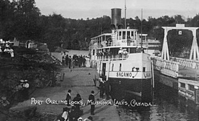 Port Carling  Locks,  Muskoka  Lakes